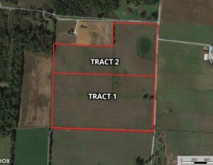 Corydon 34+ Acre Land Online Only Auction