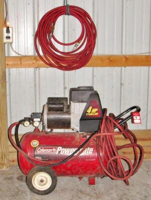 Coleman Powermate Air Compressor & Hoses