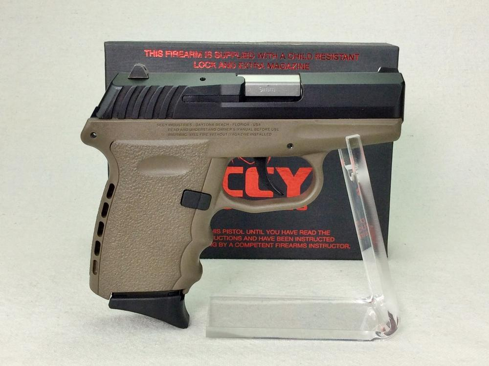 SCCY Industries CPX-2 9mm Pistol - Current price: $165