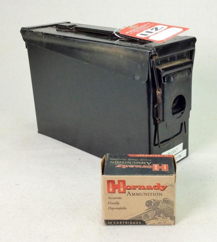 Hornady  45 Colt 225 Gr FTX Ammo - Current price: $135