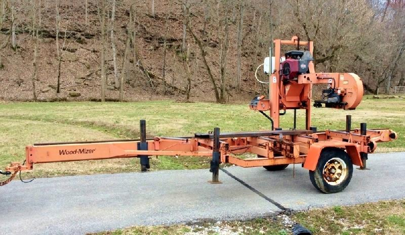 Woodmizer Sawmill For Sale >> Wood Mizer Lt30 18hp Portable Sawmill Current Price 7700