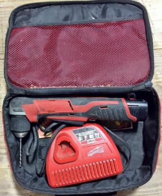 "Milwaukee 12V 3/8"" Right Angle Drill"