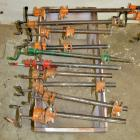 "Adjustable 3/4"" Pipe Clamps"
