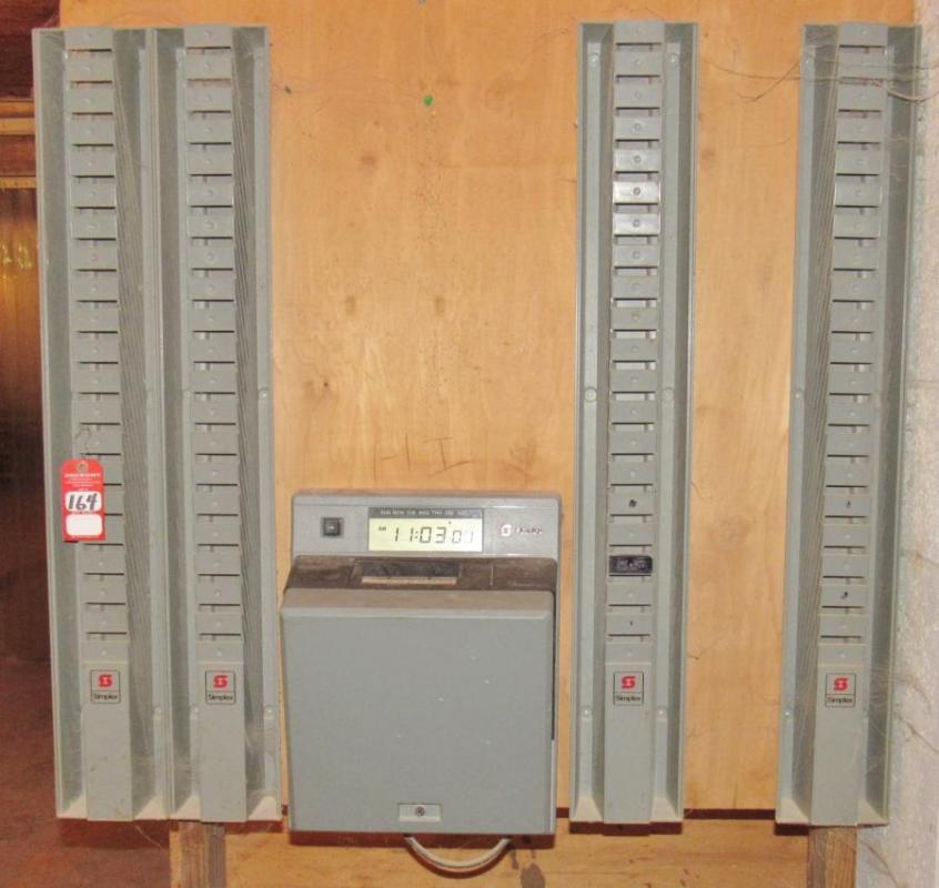 Simplex 1403 Digital Time Clock System - Current price: $46