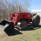 1968 Massey Ferguson 175 Tractor with MF 236 Loader