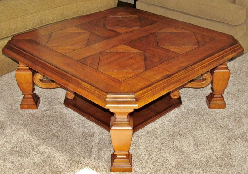 The Region S 1st Choice For Auctions, Stanley Furniture Coffee Table