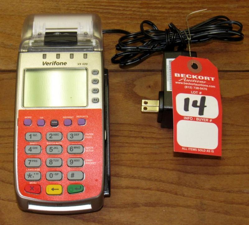 Veriphone VX520 Credit Card Machine - Current price: $10