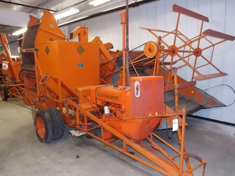 A Lot Of Cars >> Allis Chalmers All Crop Model 66 Combine - Current price: $2200
