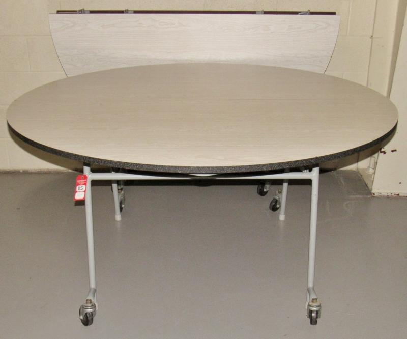 Groovy 5 Round Mobile Folding Tables Current Price 22 Download Free Architecture Designs Grimeyleaguecom