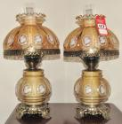 Modern Gone With The Wind Lamp Set