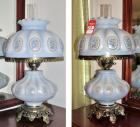 Gone With The Wind Style Modern Lamp Set