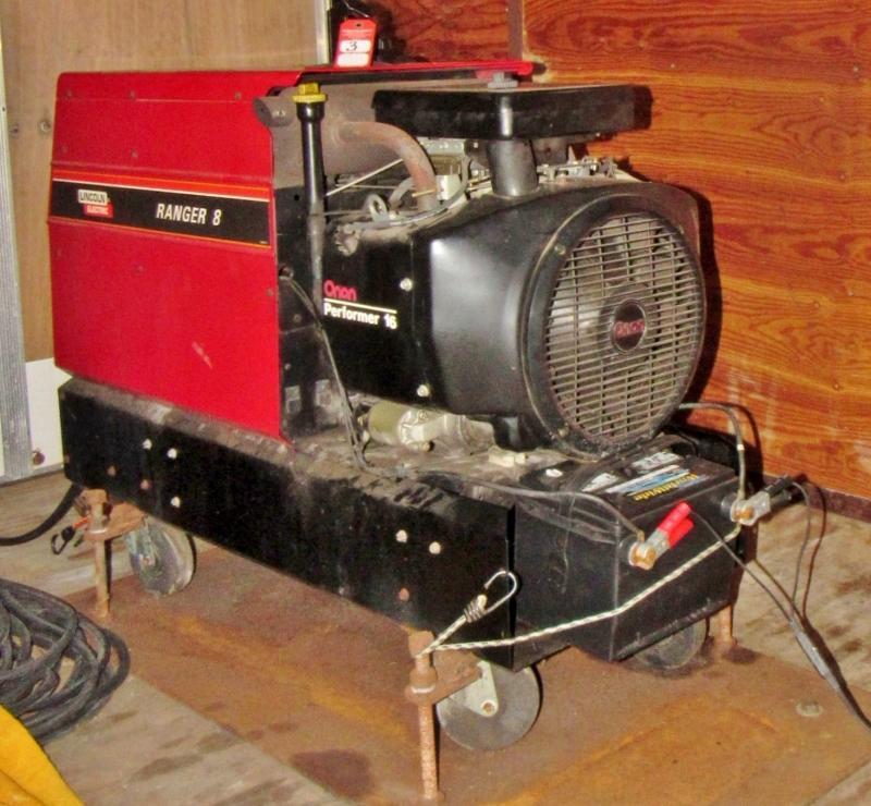 Lincoln Ranger 8 Welder Generator Set Current Price 1350