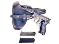 "German Mauser P.38 ""Dual Tone - Gray""  9mm Pistol"