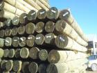 "CCA Treated 6-7"" Dia Fence Posts"