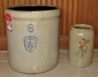 Uhl Pottery Co. 6 Gal. Stone Jar