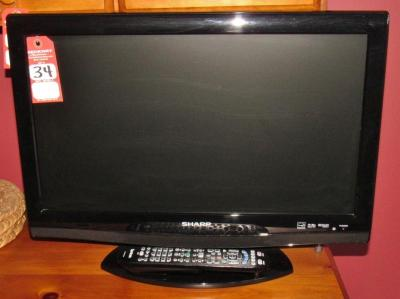 "Sharp 22"" Liquid Crystal TV with DVD Player"