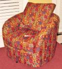 Decorative Swivel Chair