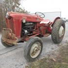 1950's Ford 600 Tractor