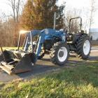 1998 New Holland 7635 4x4 Tractor & Loader