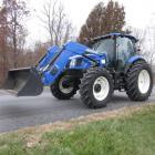 2015 New Holland T6-155 4x4 Tractor & Loader