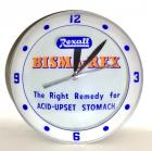 "1940's-50's Rexall Bisma-Rex ""The Right Remedy for Acid-Upset Stomach"" Double Bubble Lighted Clock"