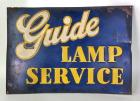 "Early ""Guide Lamp Service"" SST Sign"