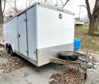 2001 Wells Cargo AW1822 Enclosed Cargo Trailer