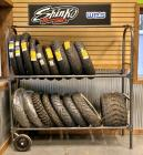 Portable Tire Display Rack