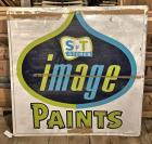 "Vintage 1979 ""S&T Stores Image Paints"" SST Sign"