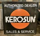 """Kero-Sun Sales & Service"" Lighted Sign"