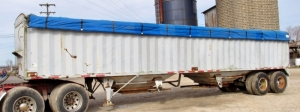 1981 Hawkeye Transpro Grain Semi Trailer