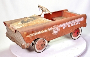 Western Flyer Fire Chief Pedal Truck