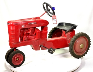 "1998 Scale Models IH Farmall M ""Farm Progress Show Edition"" Pedal Tractor"
