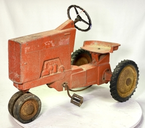 1964 Ertl Allis Chalmers 190 Bar Grill Pedal Tractor