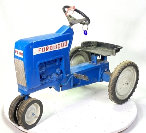 1968 Ertl Ford 8000 Pedal Tractor