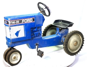 1986 Scale Models Ford TW-35 Pedal Tractor