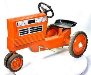 1987 Scale Kubota M6950 Pedal Tractor