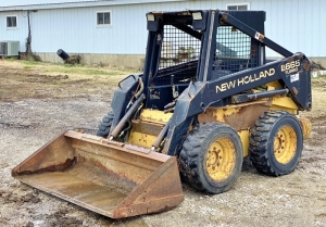New Holland LX665 Turbo Skid Steer
