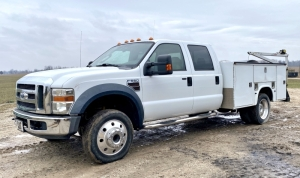 2008 Ford F-550 Super Duty XLT Crew Cab 4x4 Service Truck