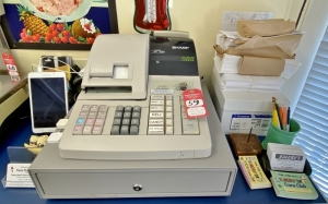 Cash Register and POS Tablet