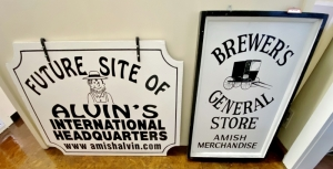Brewer's General Store and Amish Alvin's Signs