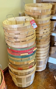 Wooden Display Baskets