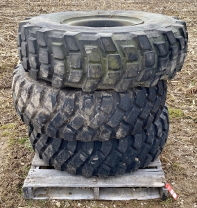 Military Truck Tires & Rims