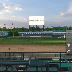 Day of Racing at Churchill Downs