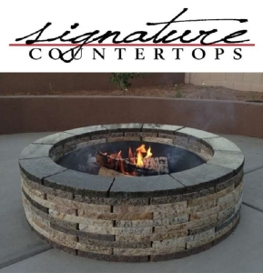 Granite Fire Pit Kit