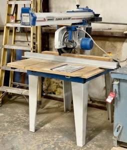 "OMGA Model RN700 12"" Radial Arm Saw"