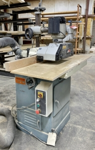 Northtech Model NT-101-73-11/4 Spindle Shaper with Northtech Power Feeder