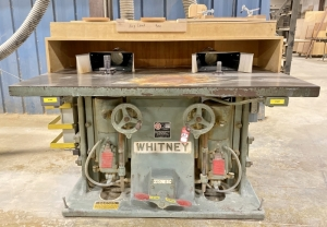 Baxter D. Whitney & Son No 91 Double Spindle Shaper