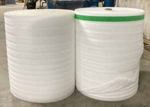 Two Rolls of Packaging Material