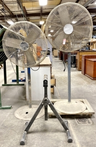 "Patton 30"" Pedestal Fans"